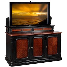 Cheap TV Lift Cabinet Sycamore TV Stand (AT004310S)