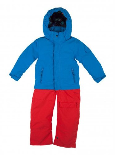 Quiksilver Pillar Kids Snow Suit - Pacific