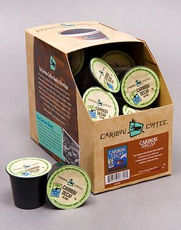 Caribou Coffee Caribou Blend Decaf-- 1 Box Of 24 K-Cups For Keurig Brewers