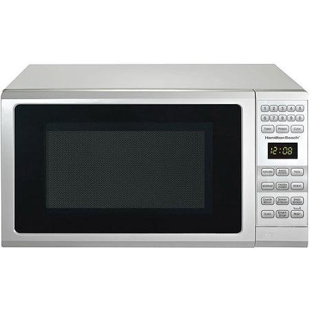 Hamilton Beach 0.7-cu ft Microwave Oven, Black (White) (Microwave Oven Small Countertop compare prices)