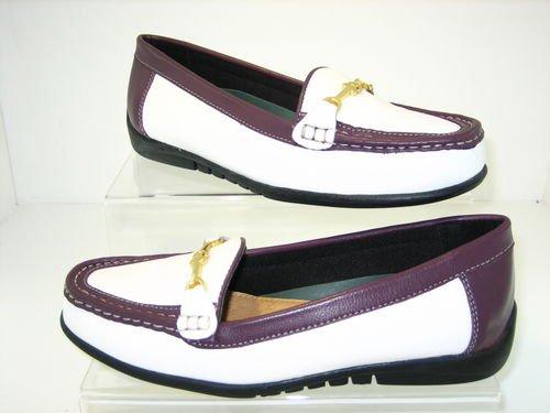 Grasshopper Womens 100% Sheeps Leather Loafers Sandal Flat Shoe