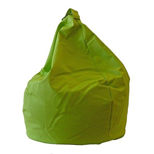 Eridaneo - Cuscino Poltrona Ecopelle, Colore Verde