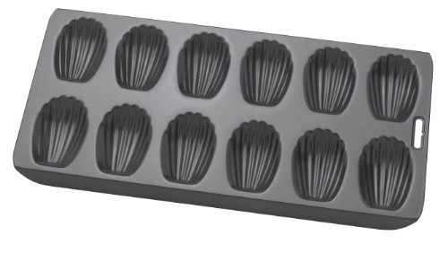 HIC Brands that Cook Mrs. Anderson's Baking Non-Stick Madeline Pan, 12-Cup