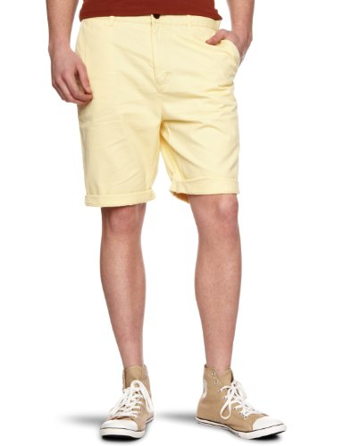 Farah Vintage The Chester Twill Men's Shorts Buttercup W30 IN
