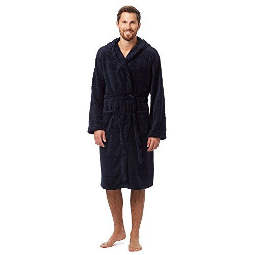 j-by-jasper-conran-mens-navy-hooded-dressing-gown-l