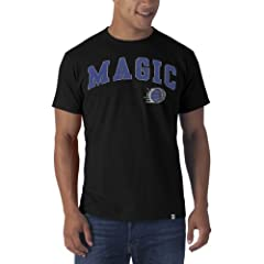 NBA Orlando Magic Fieldhouse Basic Tee, Jet Black by