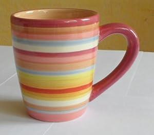 Two and a half men pink charlie lifestyles sedona 16 ounce mug set of 4 coffee - Two and a half men mugs ...
