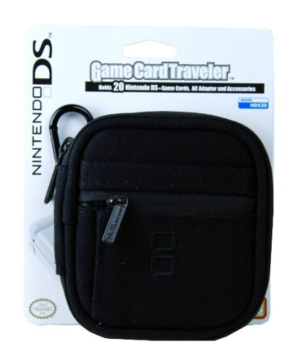Dsi/DSLite Nintendo Game Card Traveler - Black
