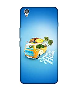 OnePlus X Designer / Printed Back Cover -(summer)