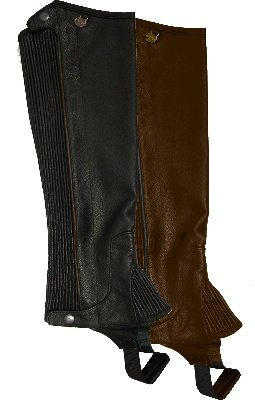 Ovation - Ladies Pro Top Grain Leather Half Chaps