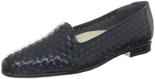 Trotters Women's Liz Loafer,Navy,9 N