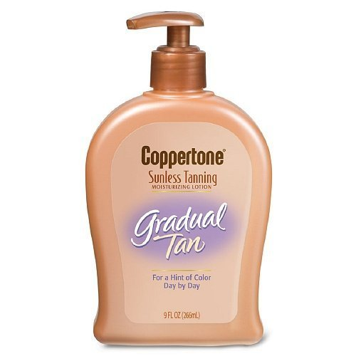 coppertone-sunless-tanning-gradual-tan-moisturizing-lotion-9-fl-oz-266-ml-pack-of-5-by-coppertone