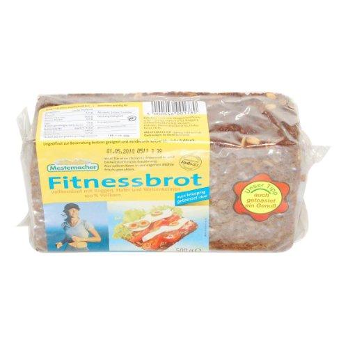 German Mestemacher Fitness Bread Wholemeal - 1 x 500 g