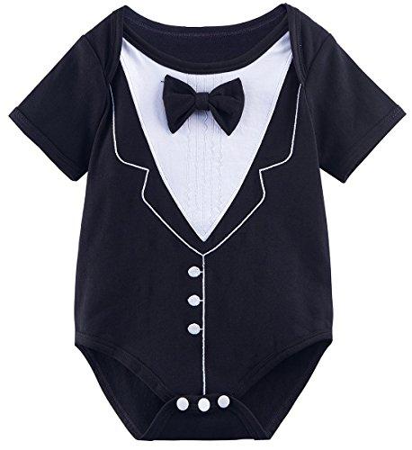 A&J Design Baby Boys' Gentleman Onesie Bodysuit