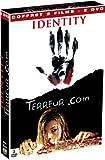 echange, troc Coffret Frisson 2 DVD : Identity / Terreur.com
