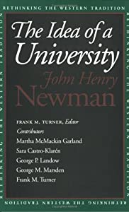 """Cover of """"The Idea of a University (Rethi..."""