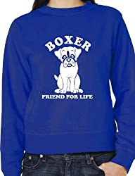 Boxer Dog Lover Adult Unisex Sweatshirt Jumper Birthday Gift Idea Size S-XXL