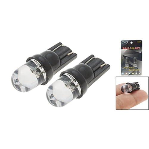 Amico 12V Colorful LED Light Car Auto Light Lamp Bulb 2PCS