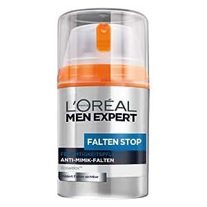 L'Oreal Men Expert Falten Stop, 1er Pack (1 x 50 ml)