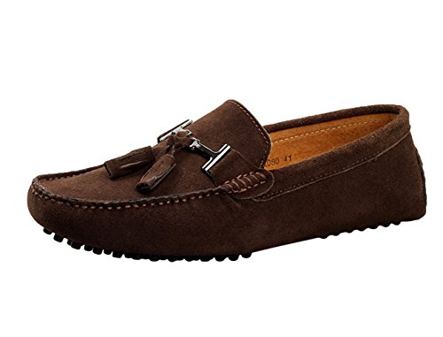 icegrey-homme-decontracte-suede-cuir-mocassins-tassel-chaussures-43-cafe