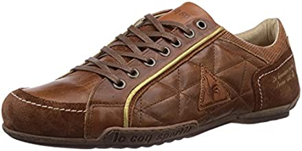 Le coq Sportif  CANNET LOW, Baskets hautes homme - Marron - Marron écaille de tortue, 41 EU