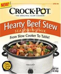 Crock Pot Hearty Beef Stew Seasoning Mix (1.5 oz Packets) 3 Pack