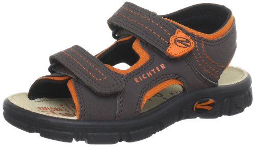 Richter Kinderschuhe Adventure Sandals Boys brown Braun (coffee/mandarino 9501) Size: 32