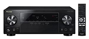 Pioneer Channel AV Receiver, VSX-823-K (Black)