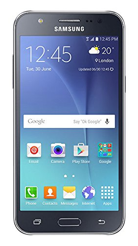 Samsung Galaxy J5 SM-J500H/DS GSM Factory Unlocked Smartphone, International Version (Black) (Samsung Galaxy 5 Phone compare prices)