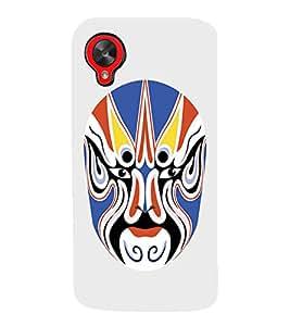 EPICCASE Beijing Opera Mask Mobile Back Case Cover For LG Google Nexus 5 (Designer Case)