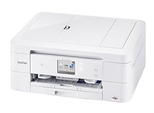 brother A4インクジェット複合機(両面印刷/有線・無線LAN/ADF/手差しトレイ/レーベル印刷/ホワイト) DCP-J963N-W