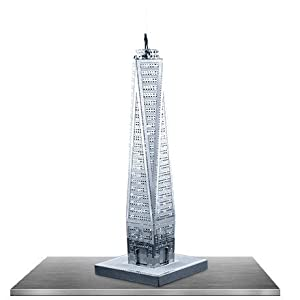 Fascinations MetalEarth 3D Laser Cut Model - One World Trade Center