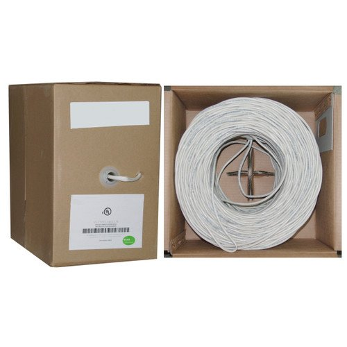 Cablewholesale 500-Feet High End 105 Strand In Wall Speaker Wire, Cl2 Rated Ul Listed Certified Audiophile Grade (10G3-291Sf)
