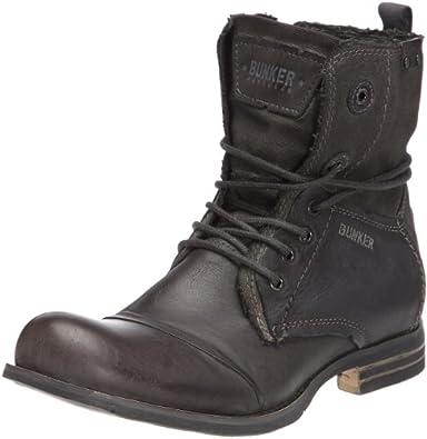 Bunker Tar, Boots homme Noir (Bnb Carbon), 41 EU