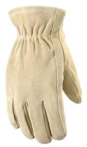 Wells Lamont 1070l Ranch Suede Split Cowhide Work Gloves