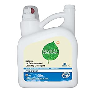 Seventh Generation Liquid Laundry 2x Ultra Concentrate