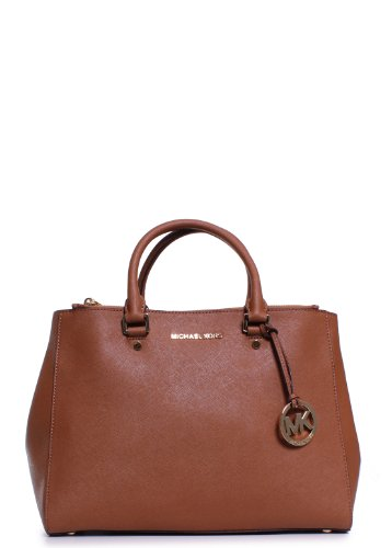 Michael Kors Jet Set Travel Large Dressy Tote In Luggage front-606978