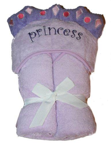 Princess Lavender/Purple Bath Wrap for Infant/Toddler by Circo - 1