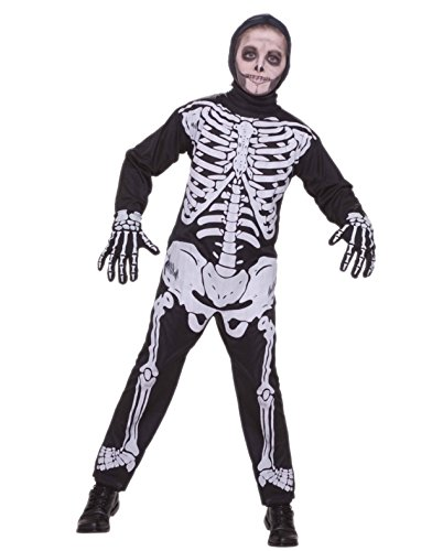 Skeleton Costume, Child Medium