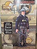 "12"" Ultimate Soldier WWII German Panzer Commander Division Officer Action Figure 1:6 Scale (2001)"