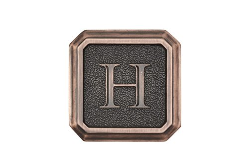 Architectural Mailboxes 3650ORB-H Aluminum Oil Rubbed Bronze Monogram - Letter