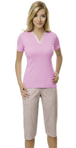 Women´s pyjamas - 100% Cotton - different colors