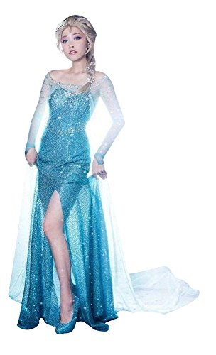 Dreamall Women's Halloween Mesh Tube Sexy Shiny Sequins Dress