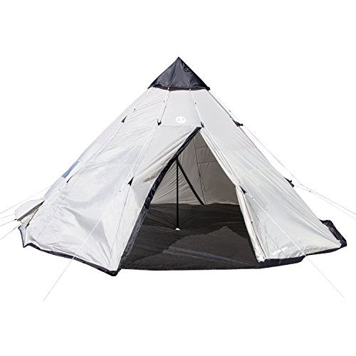 Tahoe Gear Bighorn XL 12-Person 18' x 18' Teepee Cone Shape Camping Tent (Tahoe Gear compare prices)