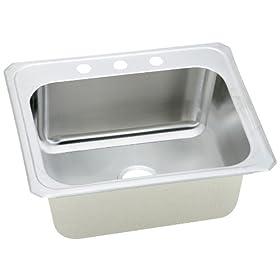 Elkay DCR2522103 Gourmet Celebrity Sink, Stainless Steel