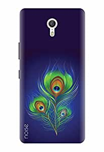 Noise Designer Printed Case / Cover for Lenovo Zuk Z1 / Nature / Peacock Feather Design