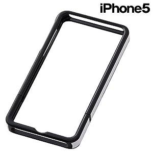 レイ・アウト iPhone (2012年発表モデル)用 レザーフレームジャケット/レッドRT-P5LC6/R