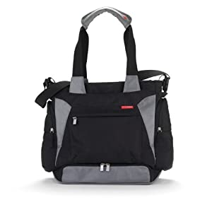 Skip Hop Bento Diaper Tote Bag, Black