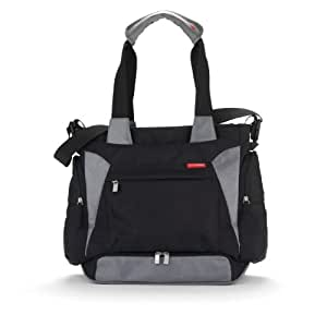 skip hop bento meal to go diaper bag black baby. Black Bedroom Furniture Sets. Home Design Ideas