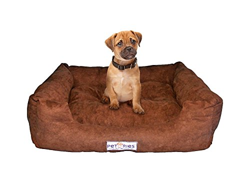 Petories Dreamy Soft and Cozy Pet Bed Brown 24